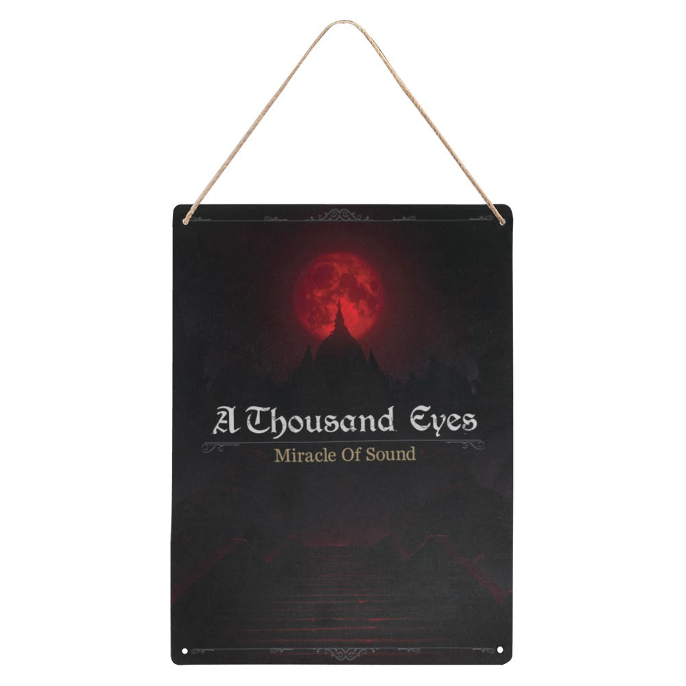 A Thousand Eyes Metal Artwork