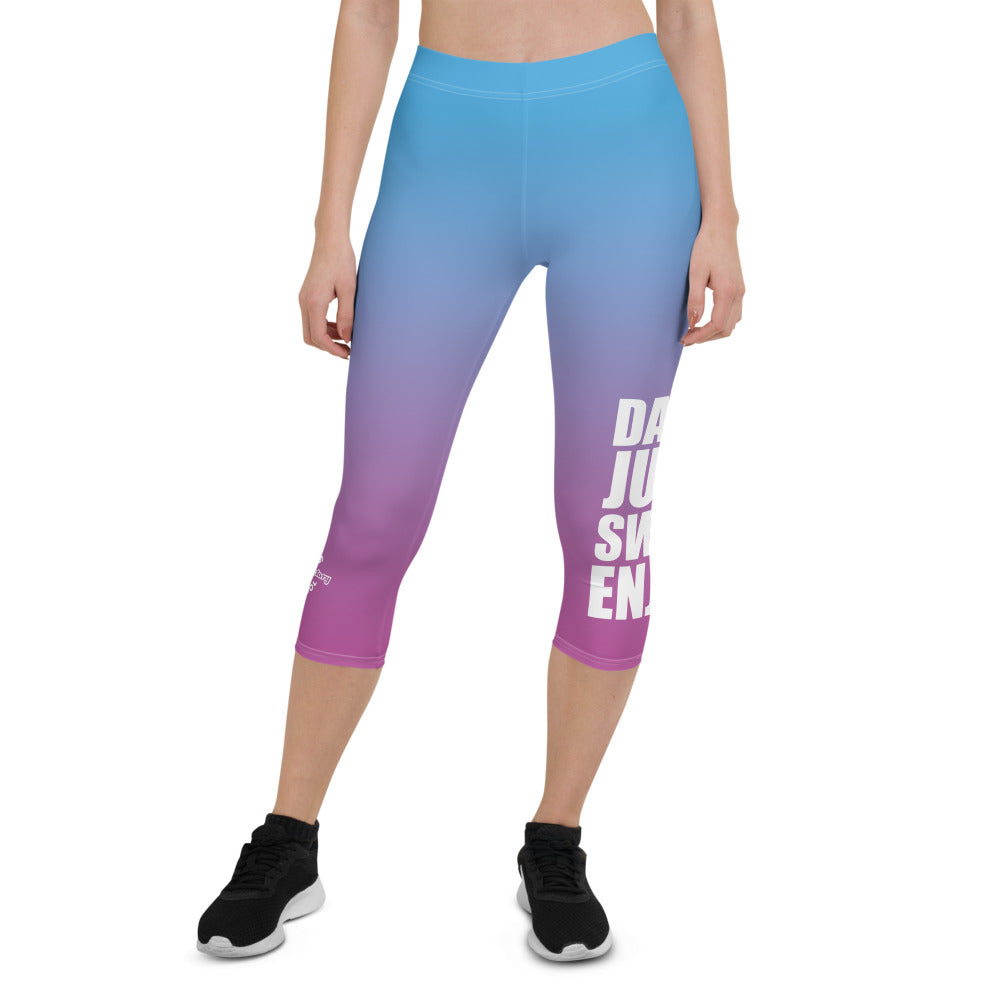 DANCE JUMP SWEAT ENJOY Capri Leggings