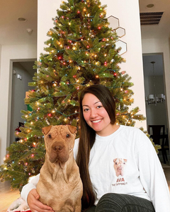 Ava The Tapping Pei Crewneck Sweatshirt