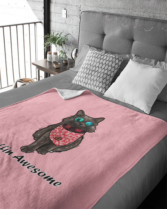The Cat Shadow Official Blankets