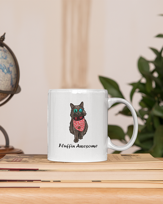 The Cat Shadow Official 11oz Mug