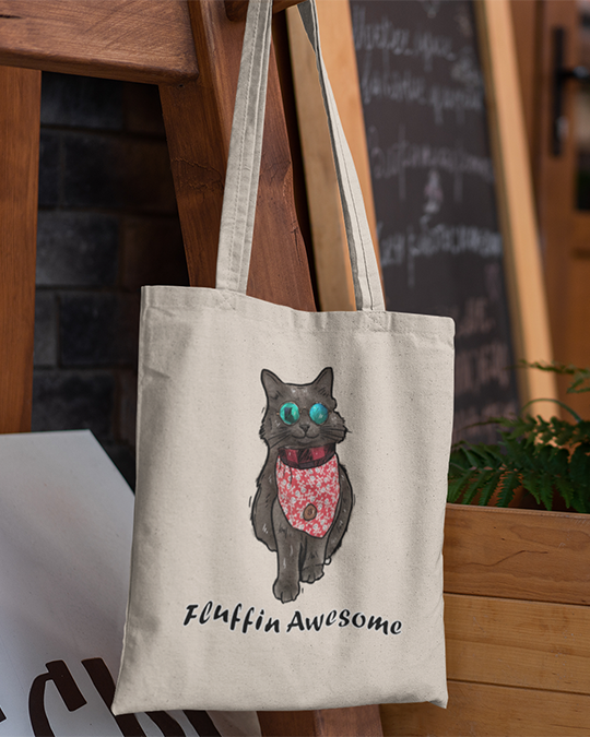 The Cat Shadow Official Canvas Tote Bag