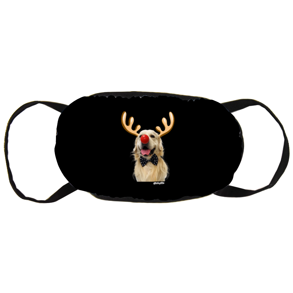 Lewis Golden Christmas Official Face Mask