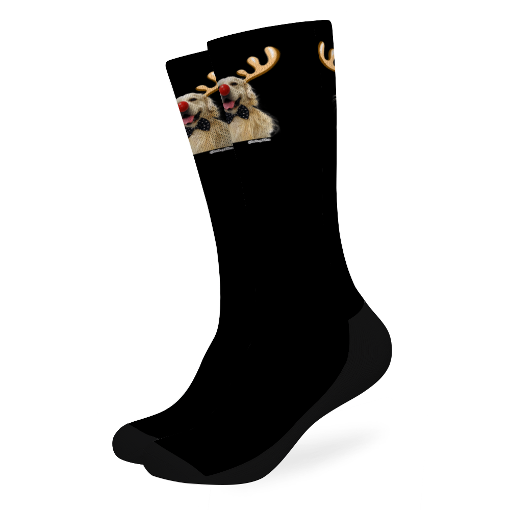 Lewis Golden Christmas Official Socks
