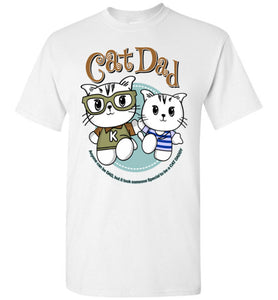 Cat Dad Kids T-shirt It Took Someone Special to be a Cat Daddy