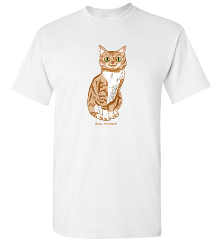 Max Max the Cat Men's T-shirt S-2XL-Vardise.com