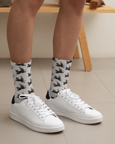 Kissy Kabu Official All Over Print Socks