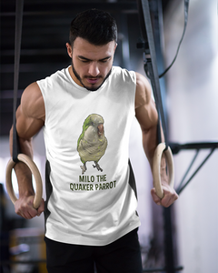 Milo The Quaker Parrot Men's Tank Top