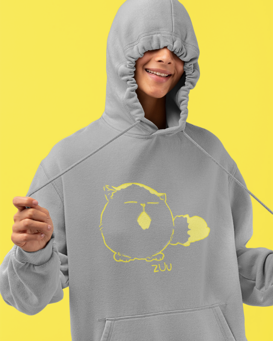 Pechanko Bocco Zuu Official Grey Hoodie