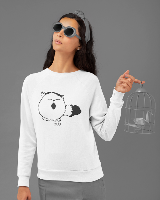 Pechanko Bocco Zuu Official White Sweatshirt