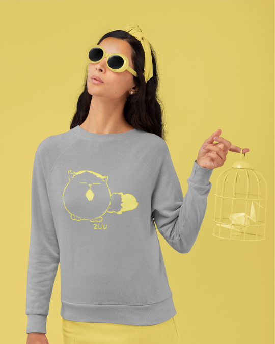 Pechanko Bocco Zuu Official Grey Sweatshirt