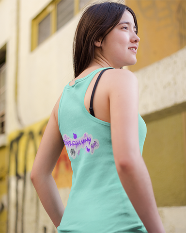 Purple Gaming Back Official Women's Tank Top