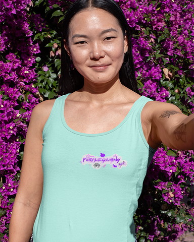 Purple Gaming Small Logo Official Women's Tank Top