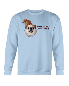 Bamei Love You 200 Times Sweatshirt