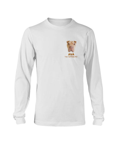Ava The Tapping Pei Long Sleeve T-Shirt