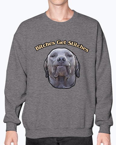Dunkin - Bitches Get Stitches Sweatshirt