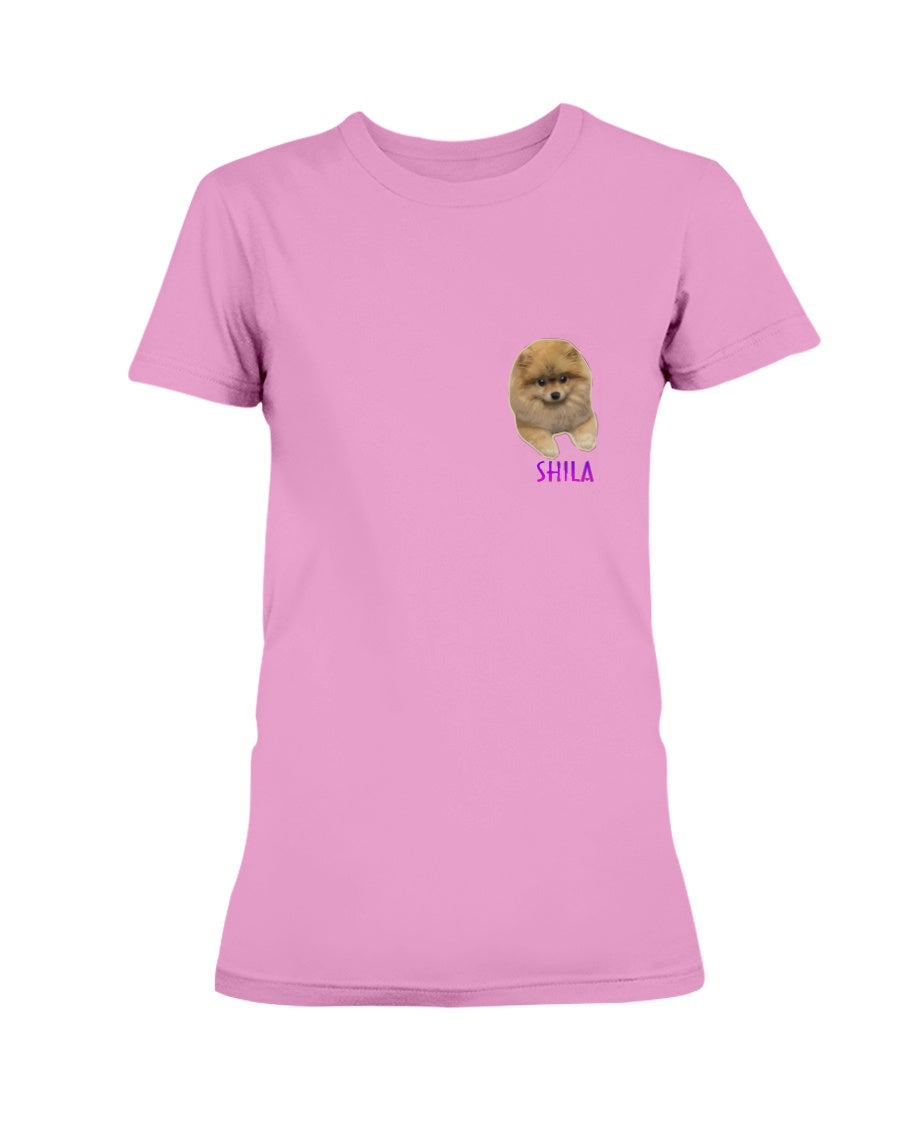 Shila Small Logo Ladies T-Shirt