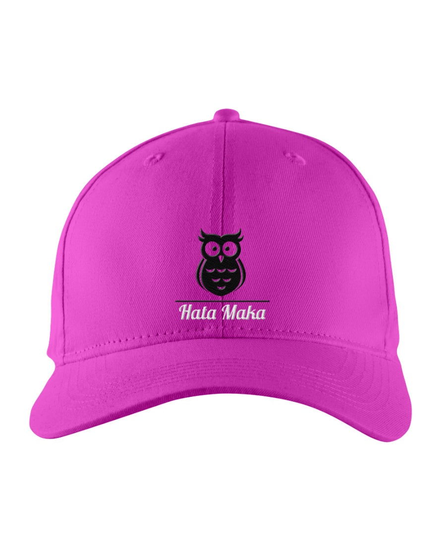 New Hata Maka Black Owl Official Pink Snapback Trucker Cap