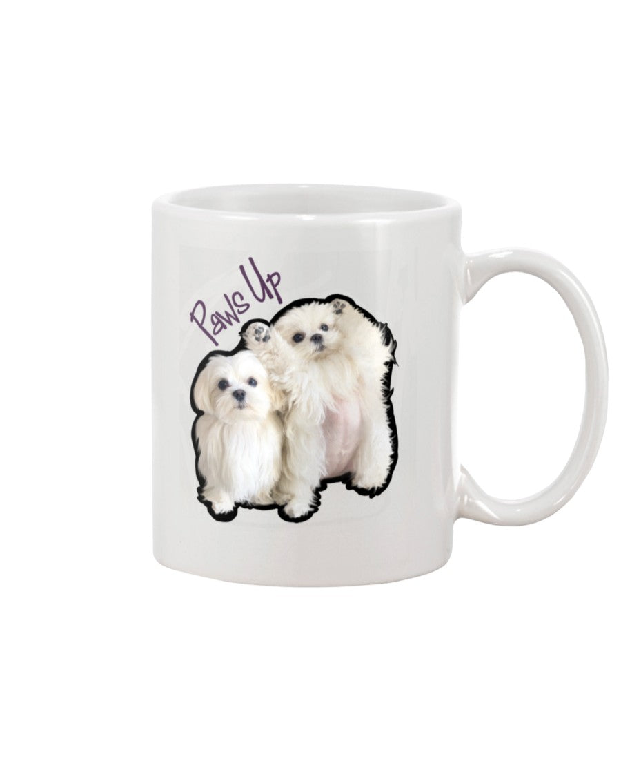 Coco And Cici Paws Up Official 11oz Mug