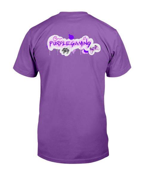 Purple Gaming Back Official Unisex T-Shirt