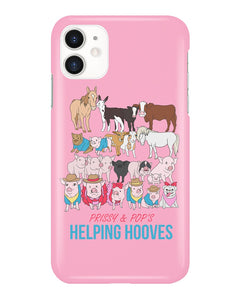 Prissy & Pop's Helping Hooves Official iPhone Case
