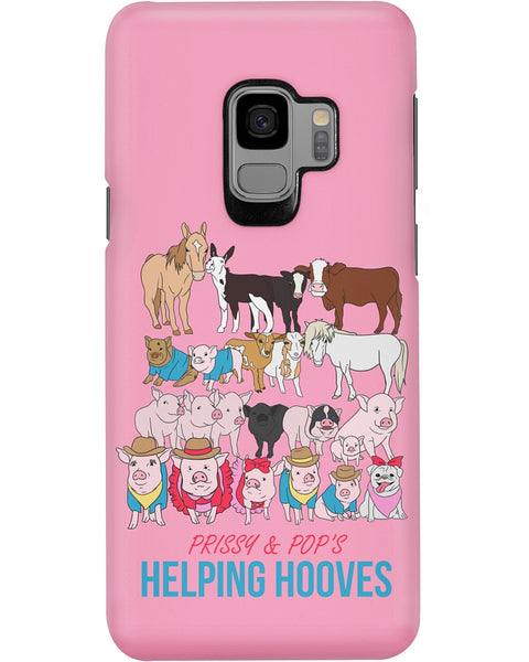 Prissy & Pop's Helping Hooves Official Samsung Galaxy Case