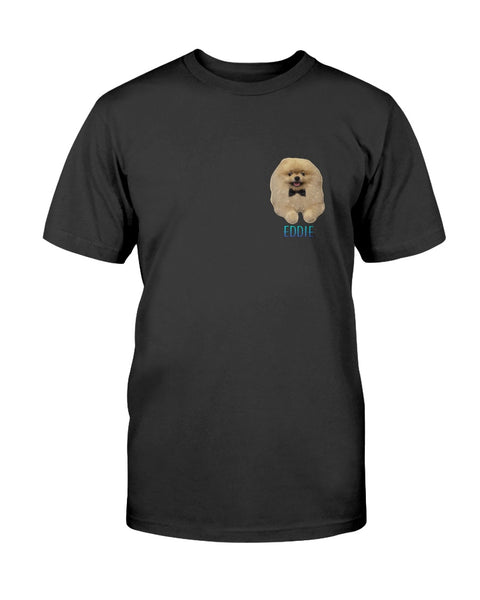 Eddie Small Logo Men's T-Shirt-Vardise.com