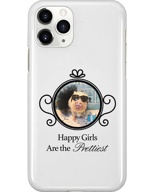 Happy Girls Are the Prettiest iPhone Case