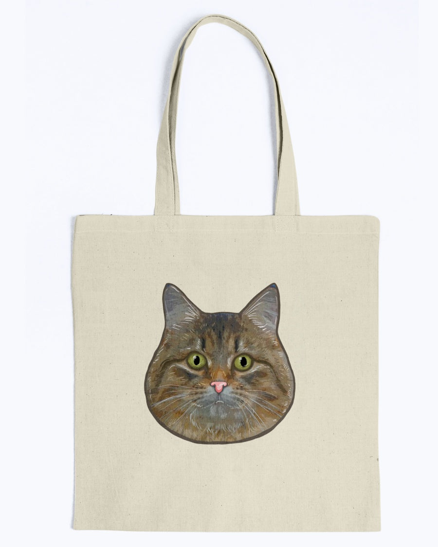 Netta The Siberian Official Canvas Tot Bag
