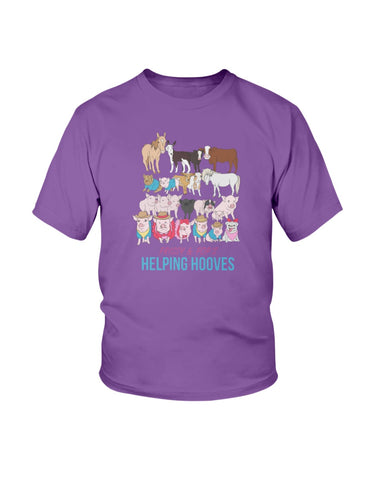 Prissy & Pop's Helping Hooves Official Youth T-Shirt