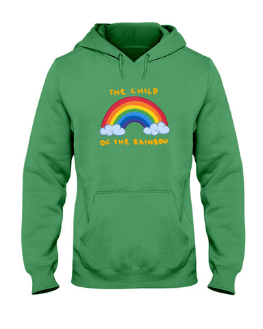 Hata Rock The Child of The Rainbow Hoodie