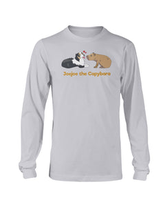 JoeJoe The Capybara and The Lovely Dog Long Sleeve T-Shirt