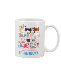 Prissy & Pop's Helping Hooves Official 11oz Mug