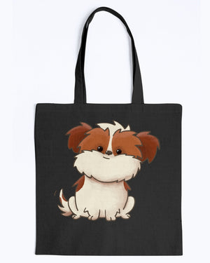 Jazzy Canvas Tote Bag