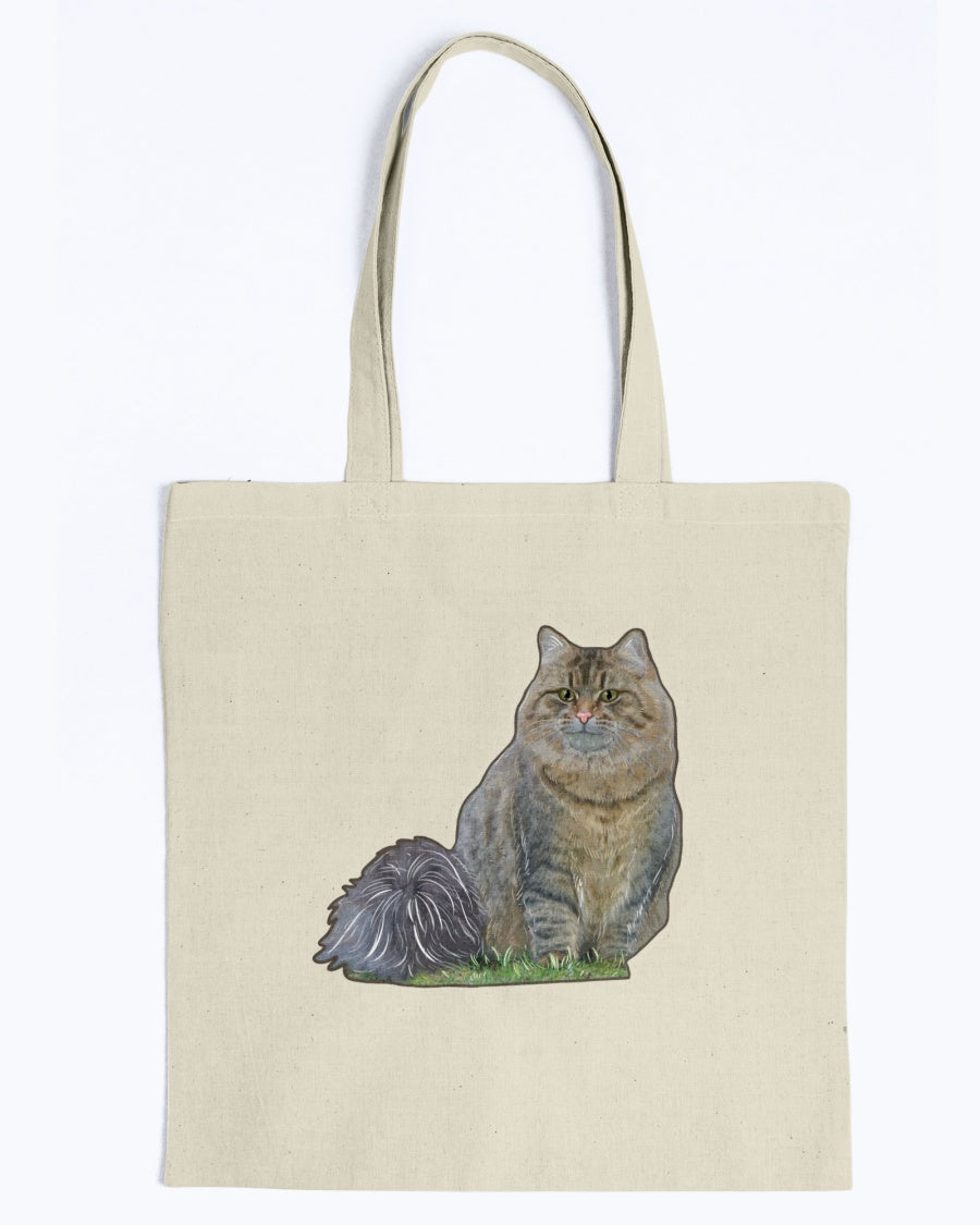 Netta The Fluffy Princess Official Camvas Tote Bag