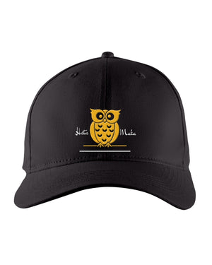 Hata Maka Yellow Owl Official Black Snapback Trucker Cap