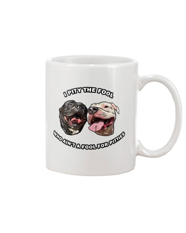 Goatie & Roo @ataleof2pitties - I Pity The Fool 11oz Mug