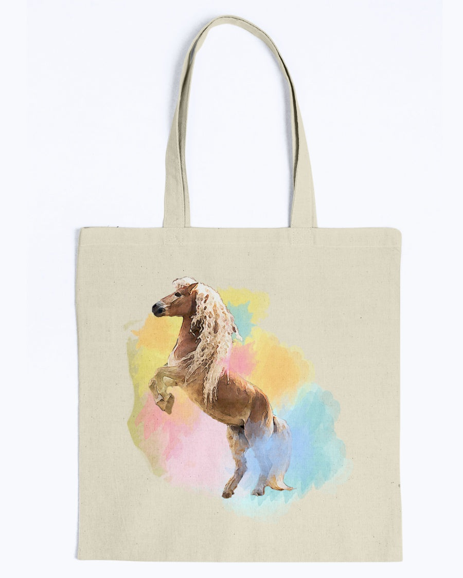 Colorful Naomi & Storm The Haflinger Official Canvas Tote Bag
