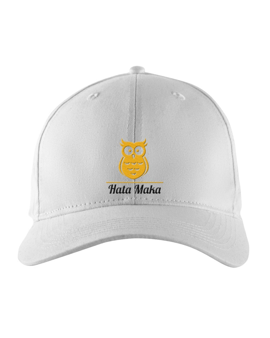 New Hata Maka Yellow Owl Official White Snapback Trucker Cap