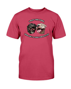 Goatie & Roo @ataleof2pitties - I Pity The Fool Unisex T-Shirt