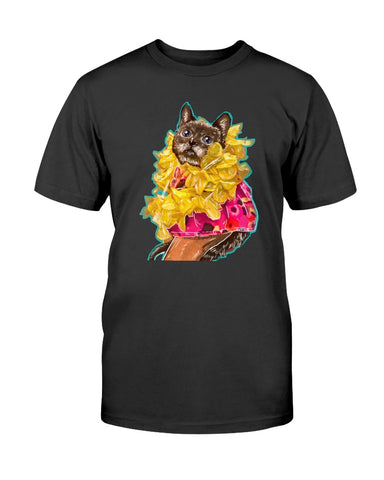 Mili the Mini Cat Men's T-Shirt-Vardise.com