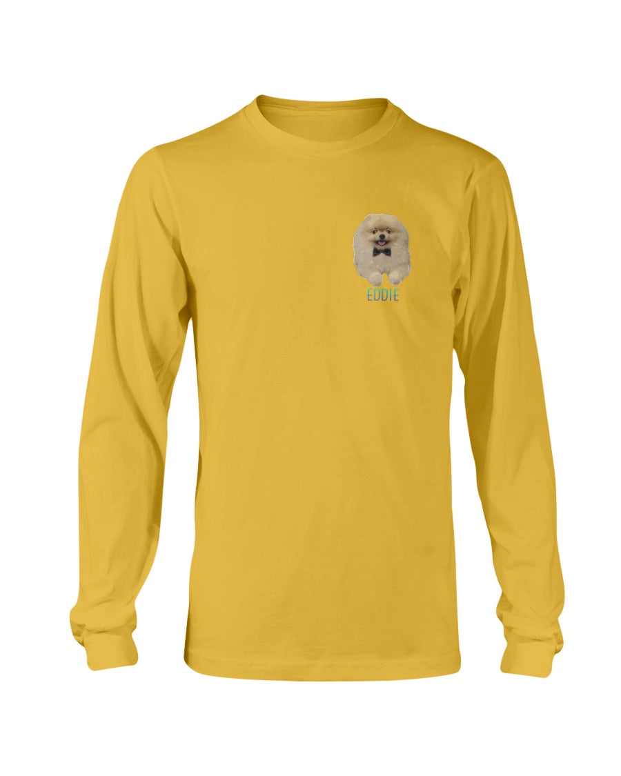 Eddie Small Logo Long Sleeve T-Shirt
