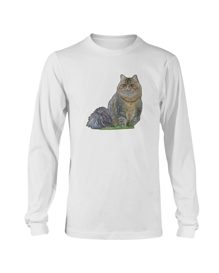 Netta The Fluffy Princess Official Long Sleeve T-Shirt