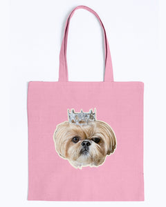 Bijou Fluff Dog Crew Official Canvas Tote Bag
