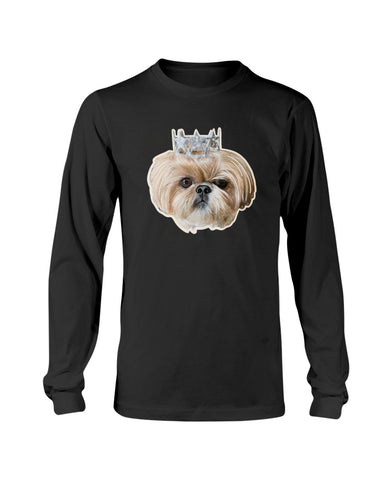 Bijou Fluff Dog Crew Official Long Sleeve T-Shirt