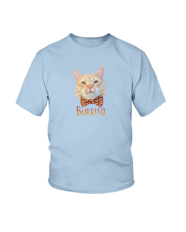 Burrito Bow Tie Official Youth T-Shirt