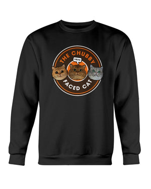 The Chubby Faced Cat Official Sweatshirt