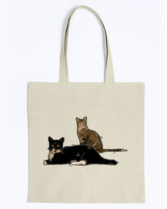 Kissy Kabu Official Canvas Tote Bag
