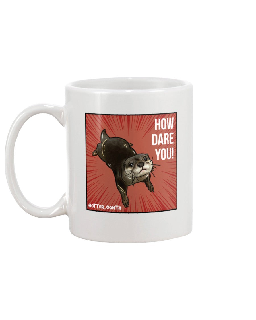 Grumpy Gonta - How Dare You! 11oz Mug