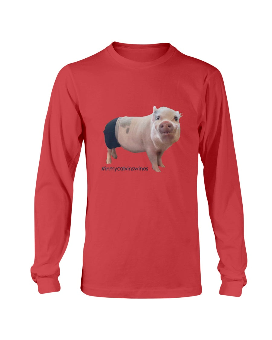 #inmycalvinswines Long Sleeve